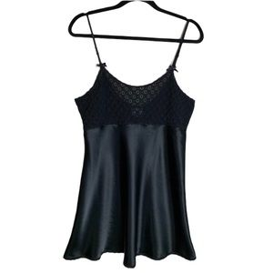 Vintage La Senza   Black Slip Dress / Chemise